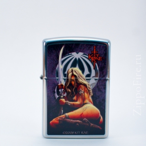 Zippo High Polish Chrome Kit Rae Enethia Zippo High Polish Chrome Kit Rae Enethia 28005