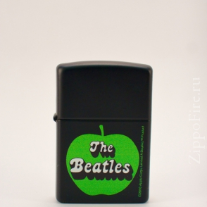 Zippo The Beatles Black Matte Zippo The Beatles Black Matte 24831