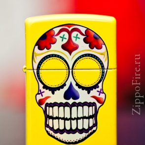 Zippo Lemon Day of the Dead Zippo Lemon Day of the Dead 24894