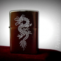 Zippo brushed chrome 200 dragon1 Zippo brushed chrome 200 dragon1 200 dragon1