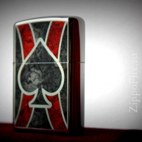 Zippo high polish chrome Ace Zippo high polish chrome Ace 28952