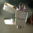 Zippo Brushed Silver 13 - 1