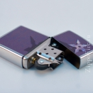 Zippo Brushed Chrome Star and Shadow 28030 - 2