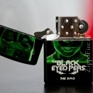 Zippo Black Matte Black Eyed Peas The End 28026 - 2