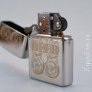 Zippo High Polish Chrome BEER 24720 - 1