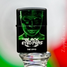 Zippo Black Matte Black Eyed Peas The End 28026 - 1