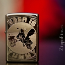 Zippo High Polish Chrome Beer Is Yummy 24047 - 2
