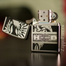 Zippo High Polish Chrome Harley Davidson Eagle 24775 - 1