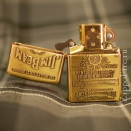 Zippo High Polish Brass Jim Beam Emblem 254BJB.929 - 2