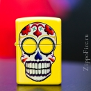 Zippo Lemon Day of the Dead 24894 - 1