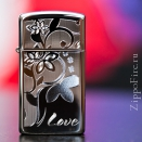 Zippo Slim High Polish Chrome 24816 - 1