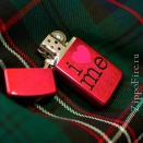 Zippo Candy Apple Red 24352 Slim - 2