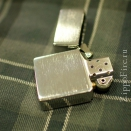 Zippo Brushed Chrome 1935.25 Replica (without slashes) - 2