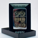 Zippo High Polish Chrome BEER 24720 - 2