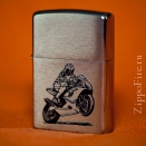 Zippo Brushed Chrome 200 Bike - 2