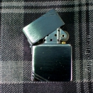 Zippo Brushed Chrome 1935 Replica (with slashes) - 1