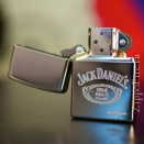 Zippo High Polish Chrome Jack Daniels 250JD.321 - 2