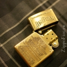 Zippo High Polish Brass Jim Beam Emblem 254BJB.929 - 3