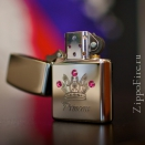Zippo High Polish Chrome Princess 24743 - 1