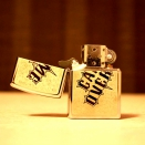 Zippo High Polish Chrome Game Over 28447 - 1