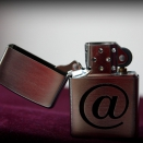 Zippo Brushed Chrome 200 Internet - 2