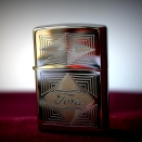 Zippo High Polish Chrome Ford 28625 - 1