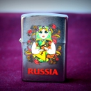Zippo Brushed Chrome 200 Matroshka Doll 2 - 1