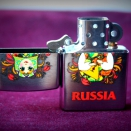 Zippo Brushed Chrome 200 Matroshka Doll 2 - 2