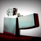 Zippo high polish chrome Ace 28952  - 2