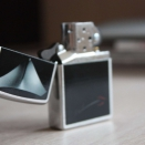 Zippo Brushed Chrome BS Decollettage 28273 - 2