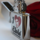 Zippo Brushed Chrome I Love Elvis Presley 28258 - 1