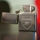 Zippo High Polish Chrome Arsenal Football Club 250AFC - 2