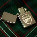 Zippo High Polish Chrome Arsenal Football Club 250AFC - 1