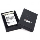 Zippo Brushed Chrome 200 Alligator - 1