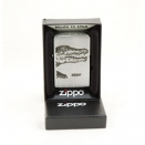 Zippo Brushed Chrome 200 Alligator - 2