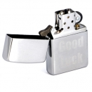 Zippo Brushed Chrome 200 Good Luck - 1