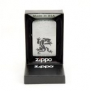Zippo Brushed Chrome 200 Panther - 1