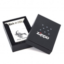 Zippo Satin Chrome 205 Tattoo Scorpion  205 Tattoo Scorpion  - 1