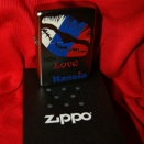 Zippo Satin Chrome 205 With love from Russia - 2